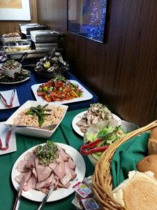 Ham buffet